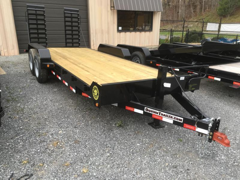 2021 Gatormade Trailers 82x21 18+3 16000 GVWR 17.5 Tires 8k axles Equipment Trailer