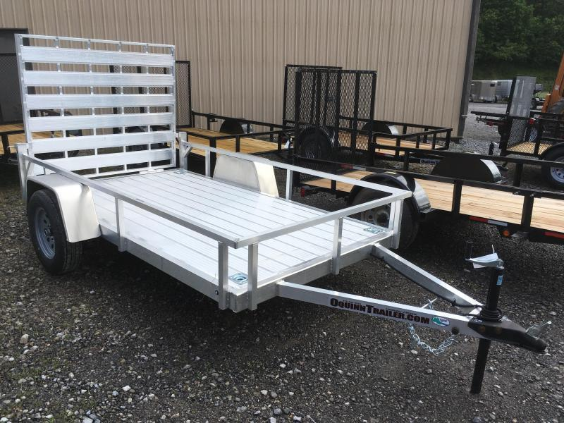 2022 Forest River Inc. 5.5x10 all aluminum Utility Trailer