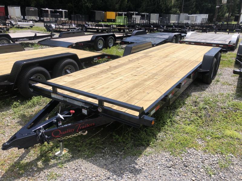 2021 Quality Trailers 82x24 5ton bumper pull wood car hauler Trailer