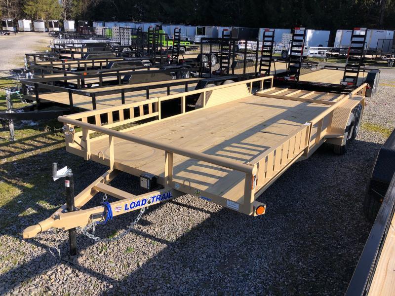 2021 Load Trail 83X20 Side Load Ramps w/Rear Gate Utility Trailer