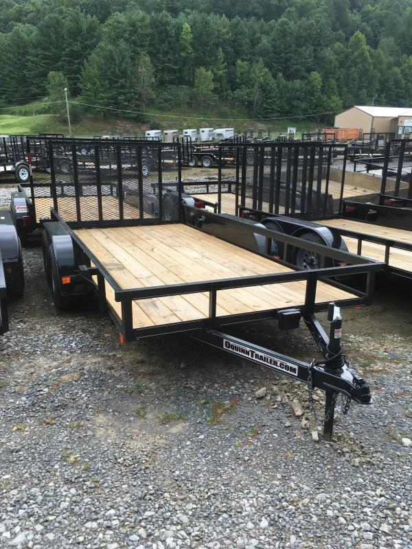 2021 Other (Not Listed) 76X14 gate brake tandem Utility Trailer
