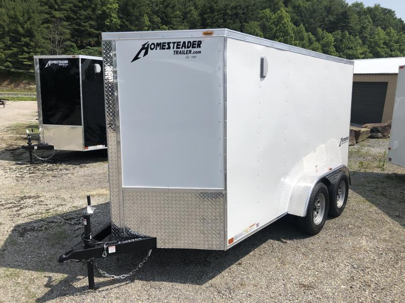 2021 Homesteader 6x12 tandem axle Intrepid sd ramp door Enclosed Cargo Trailer