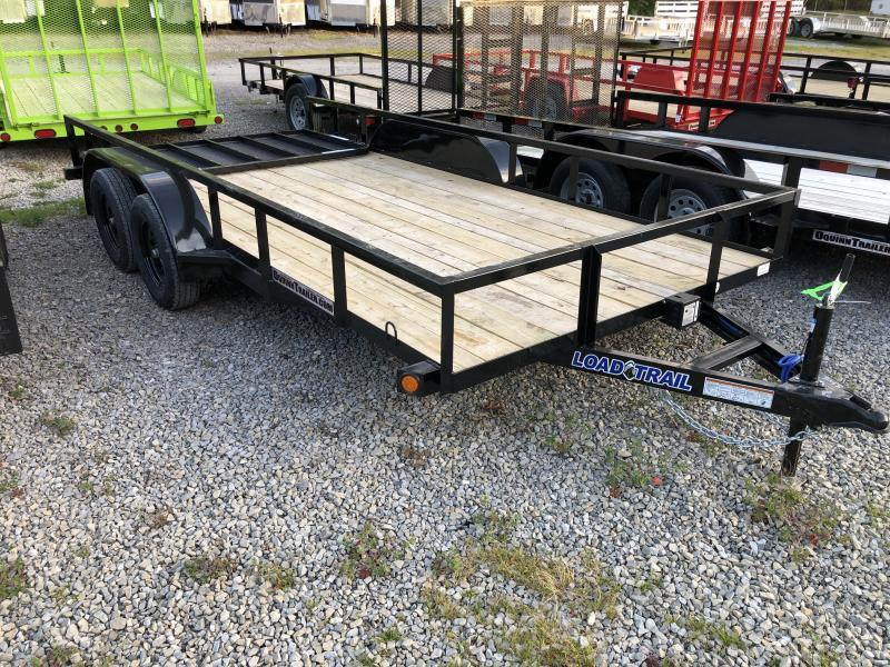 2020 Load Trail 83X16 W/Gate 1 brake Utility Trailer