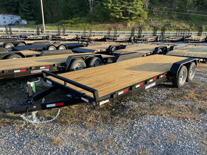 2022 Sure-Trac 82x22 5Ton Wood Floor Car Hauler Car / Racing Trailer
