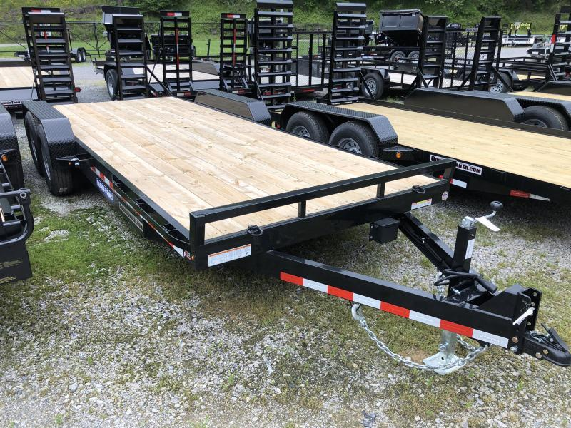 2021 Sure-Trac 82x20 7Ton Equipment Trailer