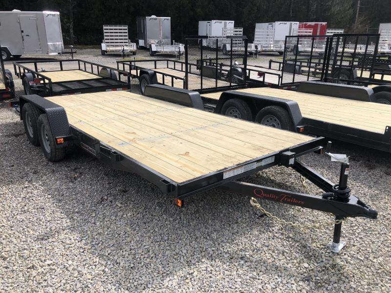 2022 Quality Trailers 82x18 wood car hauler Car / Racing Trailer