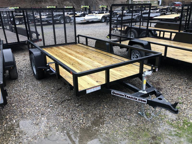 2021 Sure-Trac 6x12 Single Axle Tube Top Utility Trailer