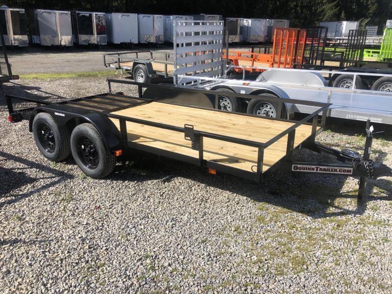 2021 Triple Crown 76x14 tandem axle w/gate Utility Trailer