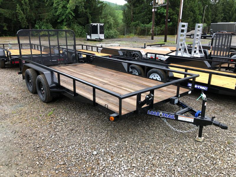 2021 Load Trail 83X16 W/Gate DOVETAIL PIPE TOP Utility Trailer