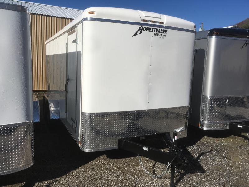 2020 Homesteader 7x16 Challenger sd ramp Enclosed Cargo Trailer