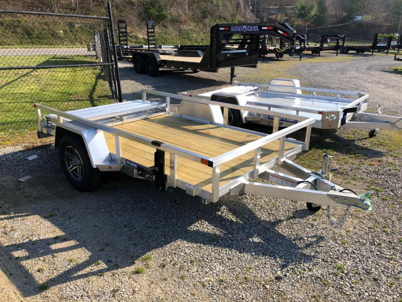 6X10 Sure Trac Single Axle Aluminum w/wood floor Utility Trailer