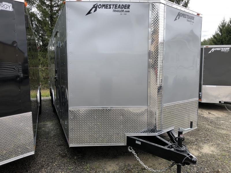 2021 Homesteader 824it intrepid 5 ton car hauler Enclosed Cargo Trailer
