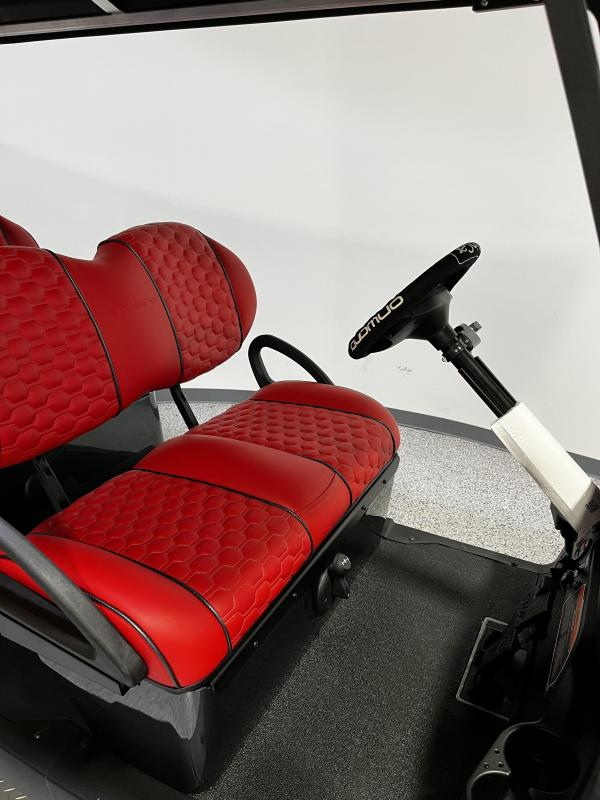 2022 Club Car Onward Golf Cart; 6 Pass; Special Edition Road Runner; Lifted; Kohler Engine; Fuel Injected