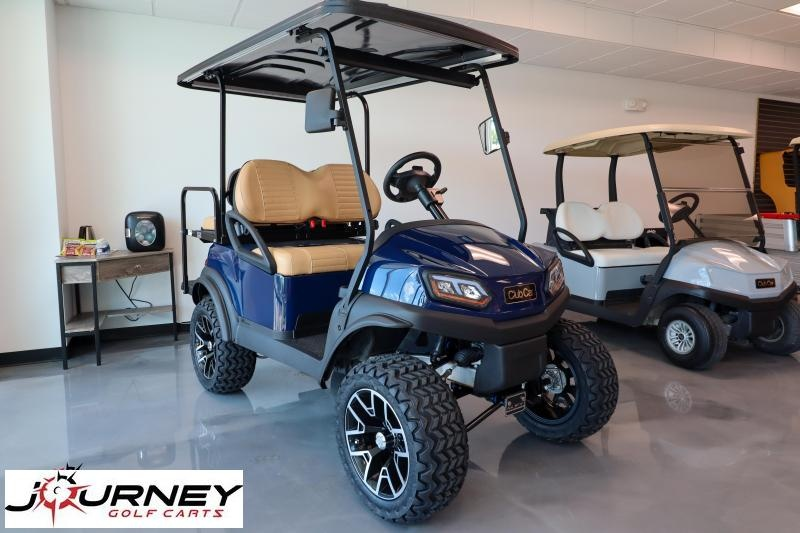2017 Club Car Tempo Electric 48V Golf Cart Lifted New Batteries LED Lights