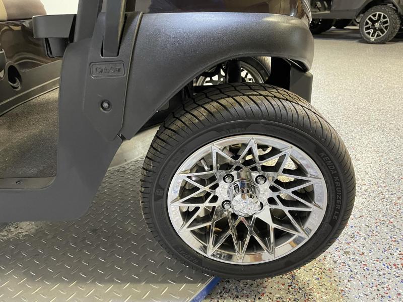 2018 Club Car Tempo Journey Edition Custom Seat Covers Alloy Chrome Wheels 48 V Golf Cart