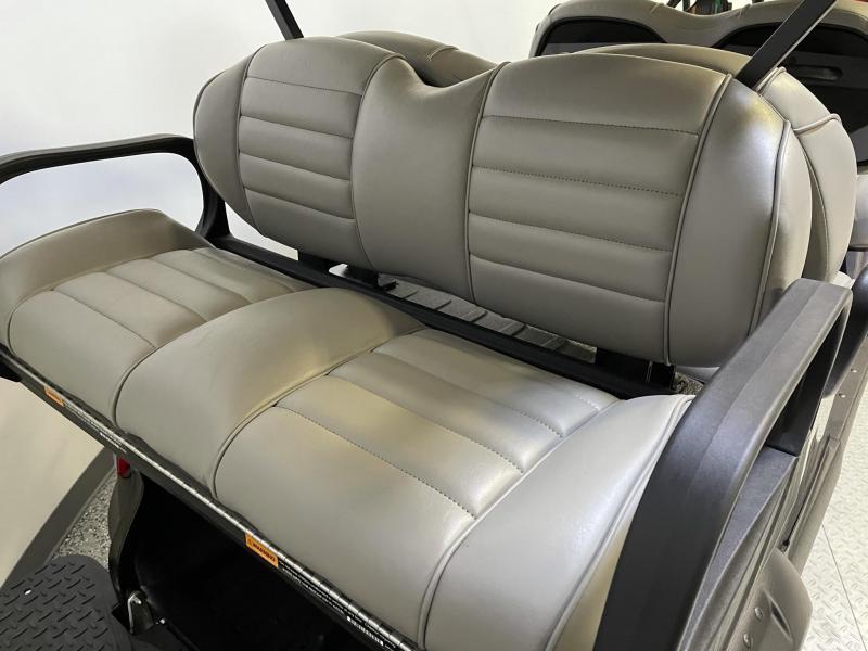 2021 Club Car Onward Metallic Blue Onyx 6 Passenger Lifted EFI Gas Golf Cart