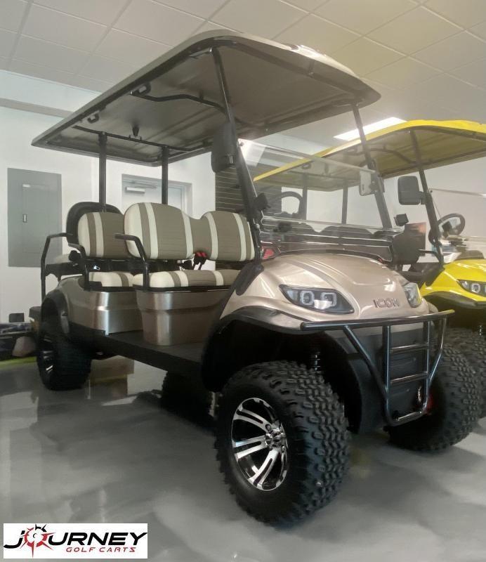 2021 ICON i60L Golf Cart Lifted 6 Pass New Trojan Batteries