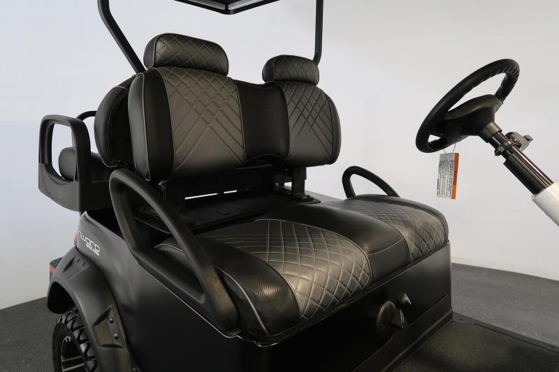 2021 Club Car Onward Matte Black Lifted LED Lights