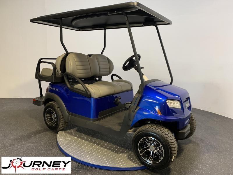 2021 Club Car Onward 4 Passenger Metallic Blue Pearl Gas