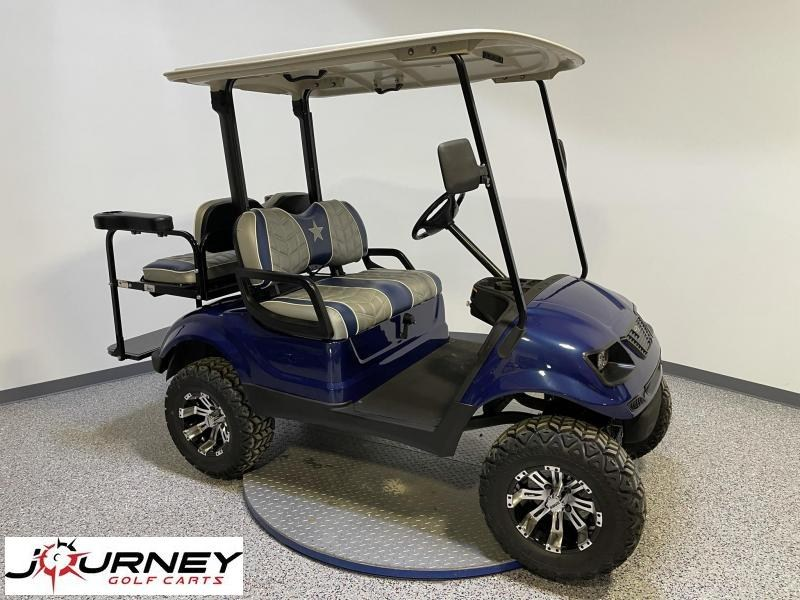 2016 Yamaha Golf Cars G29 Cowboy Edition 4 Passenger Lifted Gas Golf Cart