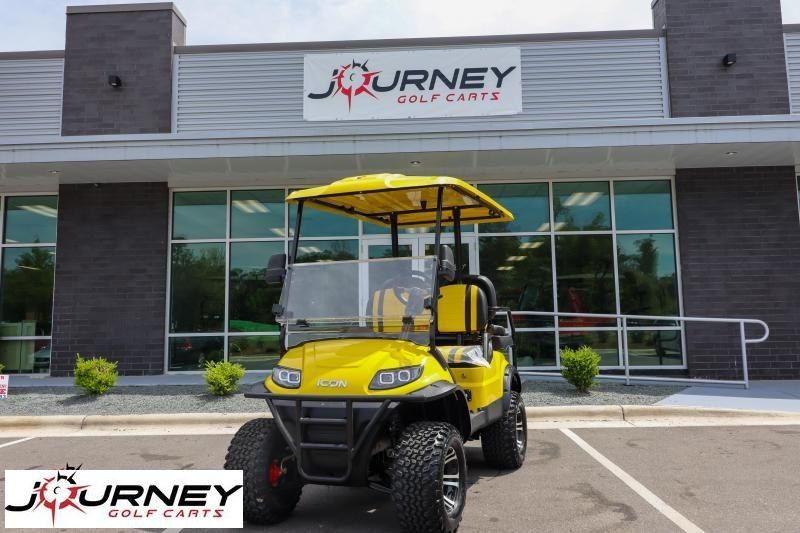 2021 ICON I40L 4 Passenger Lifted Electric Golf Cart