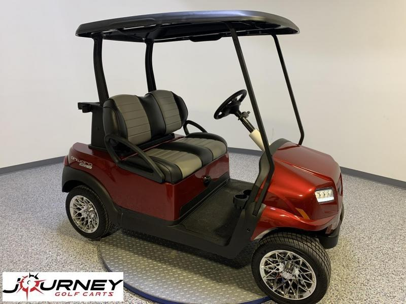 2021 Club Car Onward Lithium 2 Paasenger Candy Apple Red