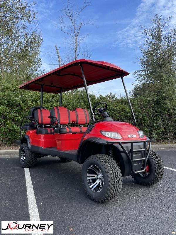 2022 ICON i60L Golf Cart Lifted New Trojan Batteries