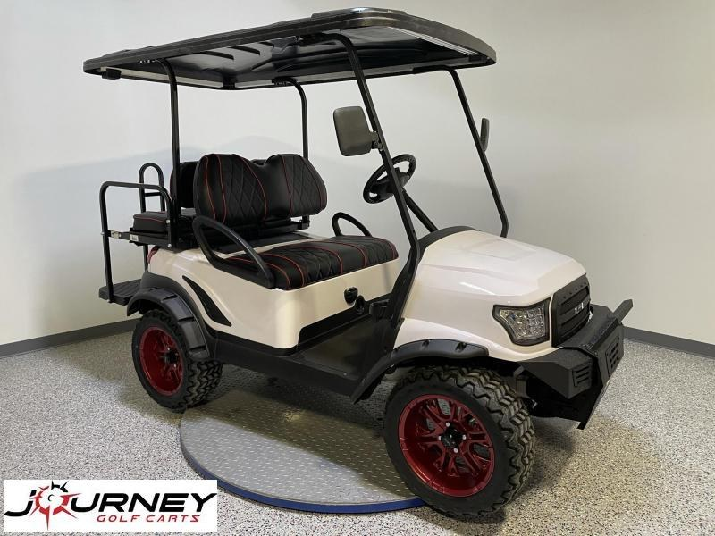 2014 Club Car Precedent Journey Edition Alpha Body 4 Passenger Lifted Golf Cart