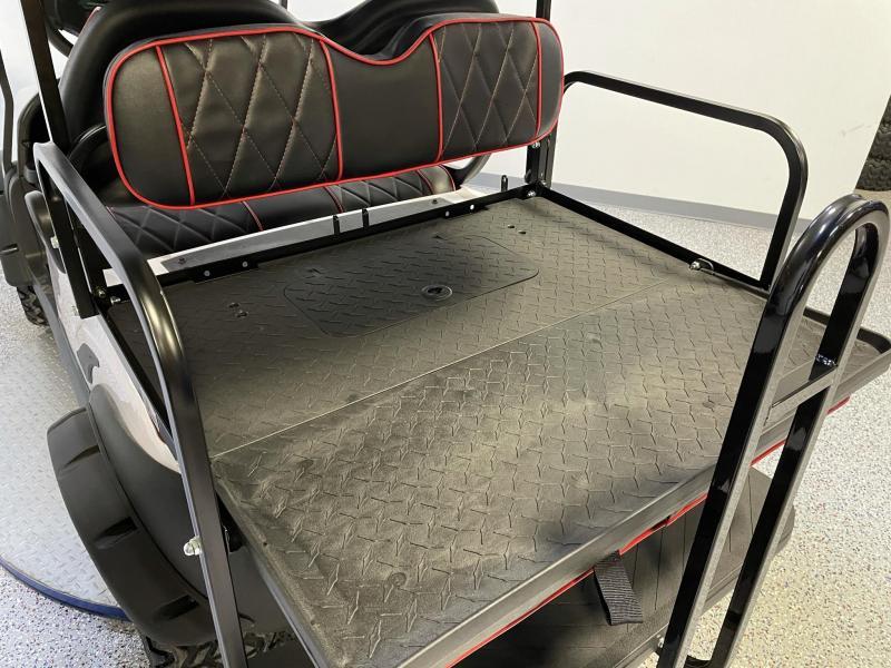 2014 Club Car Precedent Journey Edition Alpha Body 4 Passenger Lifted Golf Cart