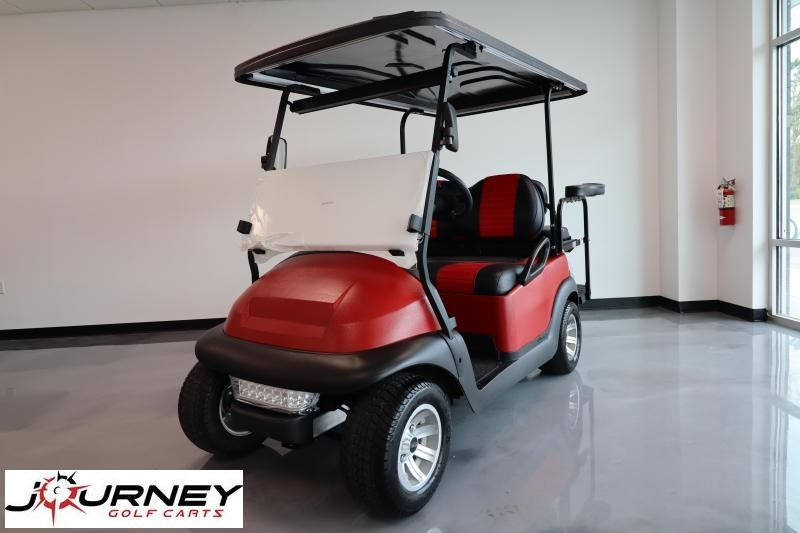 2014 Club Car Precedent Electric Totally Refurbished Golf Cart Kevlar Red