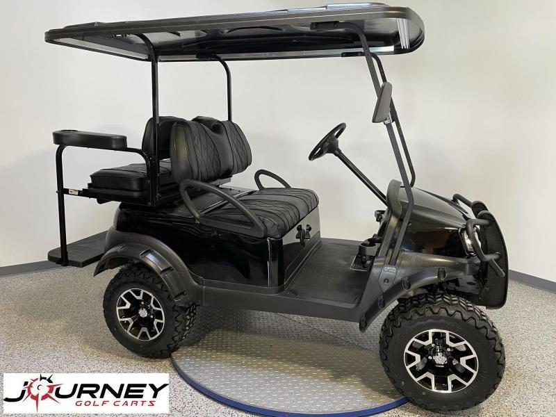 2020 Club Car Tempo EFI Gas Lifted Tuxedo Black 4 Passenger Golf Cart