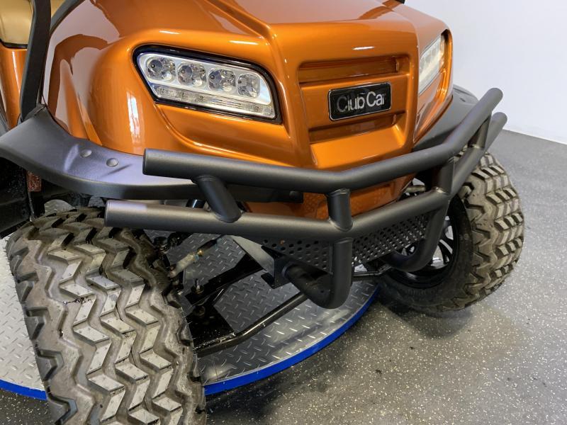 2021 Club Car Onward Lifted 4 Person Atomic Orange Electric