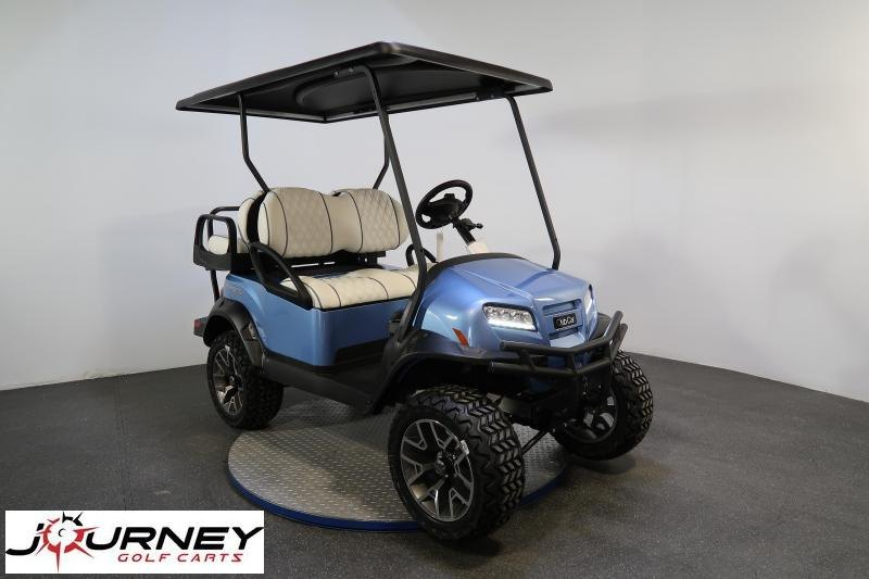 2021 Club Car Onward Special Edition Ice Storm 4 Passenger Lifted Golf Cart