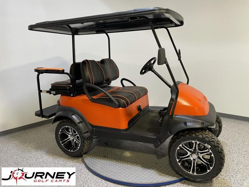 2014 Club Car Precedent Kevlar-Coated Body Lift 4 Passenger 48V Custom Journey Edition Golf Cart
