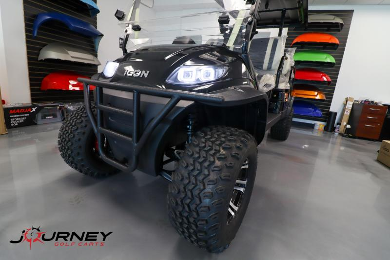 2021 ICON i60L 6 Passenger Lifted Golf Cart New Trojan Batteries Fully Loaded
