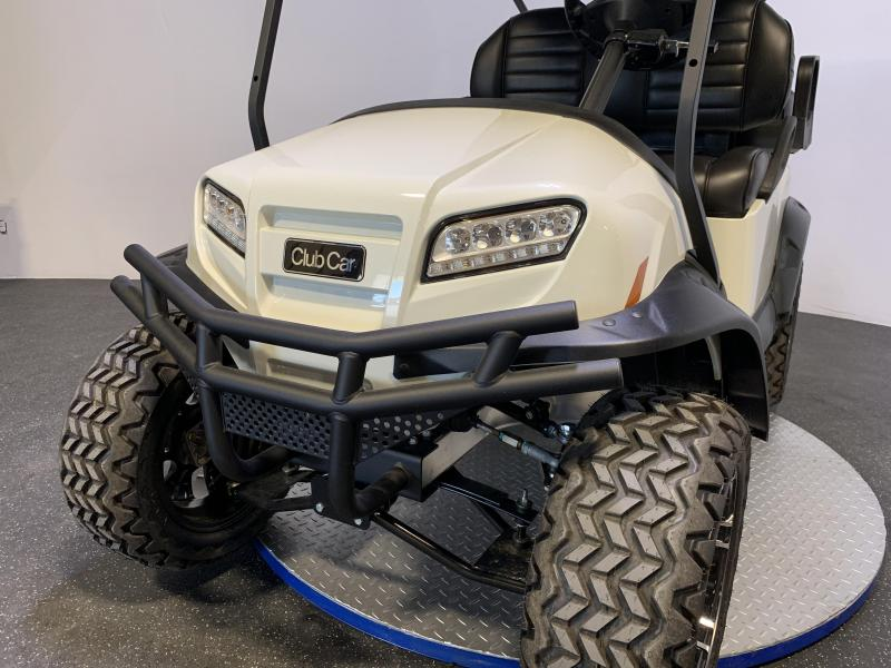 2021  Club Car Onward Metallic Glacier White 4 Passenger Lifted Electric Lots of Options