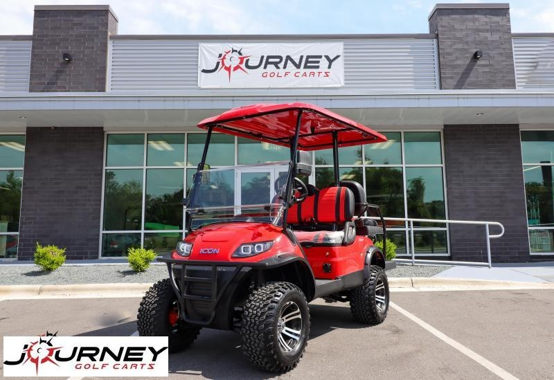 2021 ICON i40L Lifted 4 Passenger Golf Cart Fully Loaded