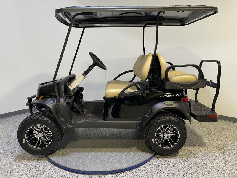 2021 Club Car Onward 4 Passenger Lifted 48 Volt Electric Golf Cart