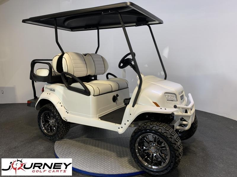 2021 Club Car Onward White Storm Limited Edition 4 Passenger Lifted
