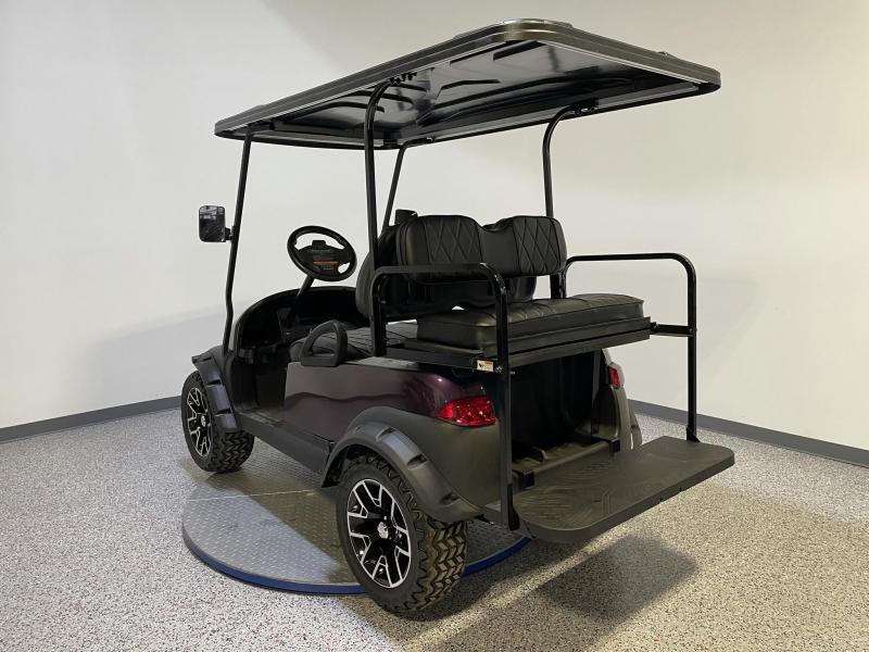 2014 Club Car Precedent Journey Edition 4 Passenger Twilight Metallic Lifted 48 Volt Golf Cart