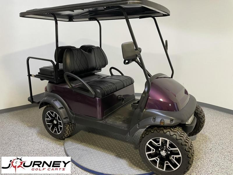 2014 Club Car Precedent Journey Edition 4 Passenger Twilight Metallic Lifted 48 Volt Golf Cart