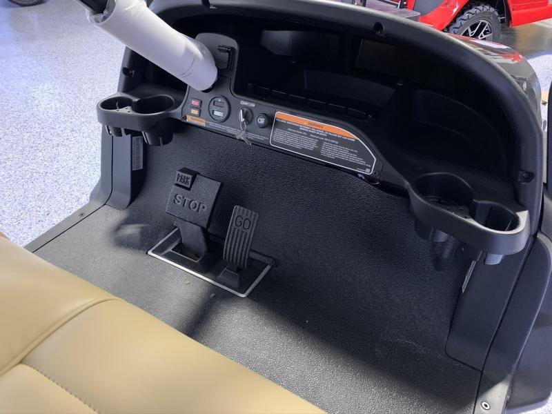 2021 Club Car Onward 4 Passsenger Lifted Gas Metallic Black