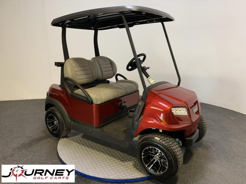 2019 Club Car Onward 2 Passenger Alloy Wheels Metallic Candy Apple Red