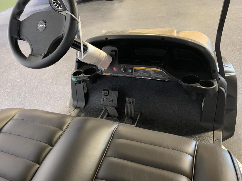 2019 Club Car Onward Lifted 4 Passenger Metallic Platinum
