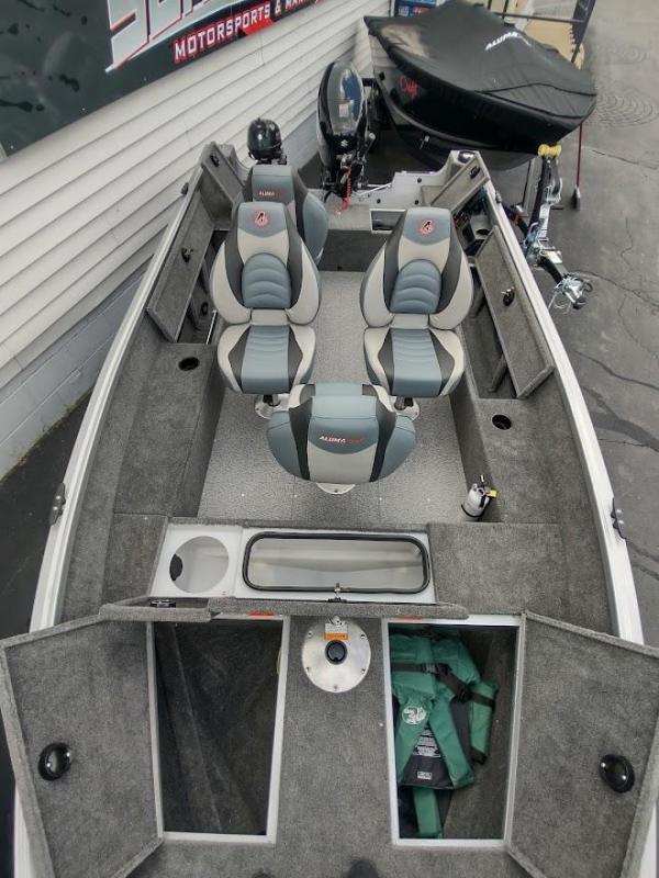 2019 Alumacraft Classic Tiller 165 Fishing Boat