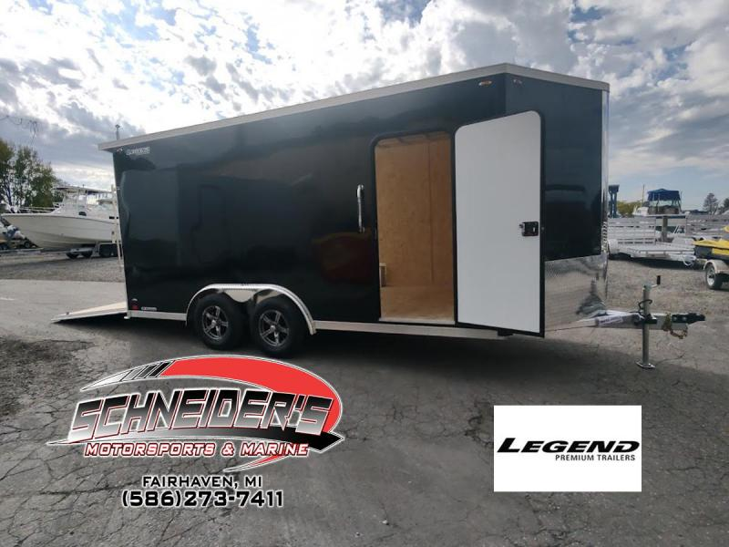 2022 Legend Trailers 8X19 FLAT TOP V-NOSE Enclosed Cargo Trailer