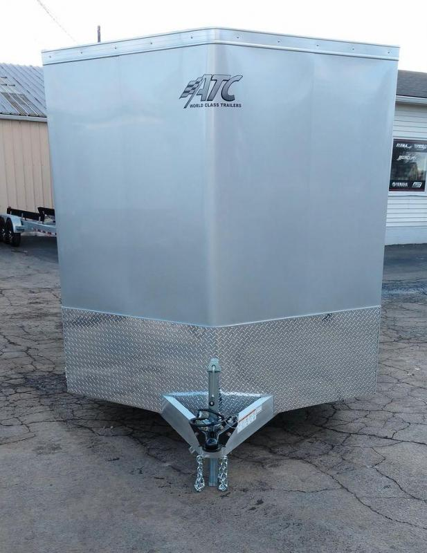 2021 ATC Raven 7 X 14+2 Tandem 3500# Spring Axle Enclosed Cargo Trailer