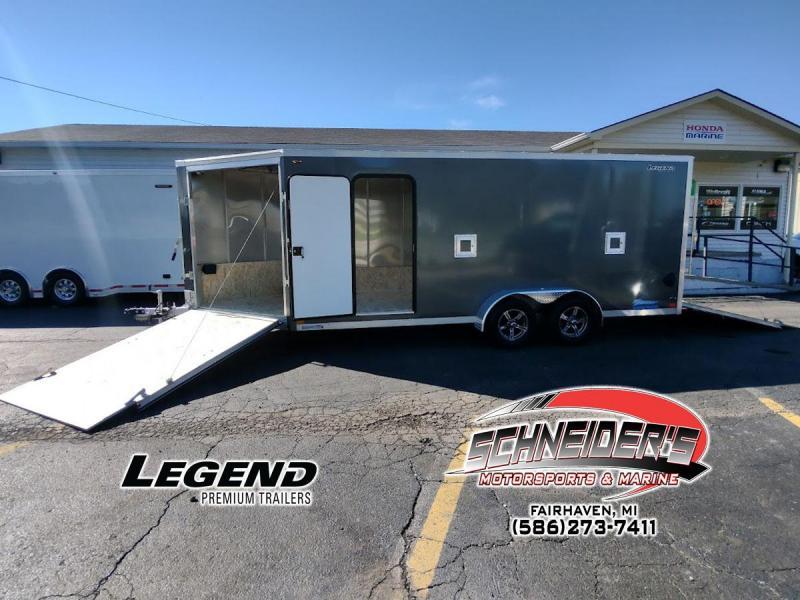 2022 Legend Trailers 7X23TSTA35 Snowmobile Trailer