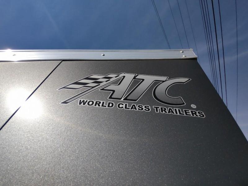 2022 ATC Raven 6 X 10 Single 2990# Spring Axle Enclosed Cargo Trailer