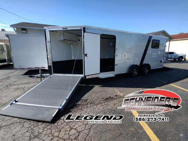 2022 Legend Trailers 7.5X27ETA35 Snowmobile Trailer